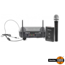 Vonyx Vonyx 2-kanaals VHF draadloos microfoon
