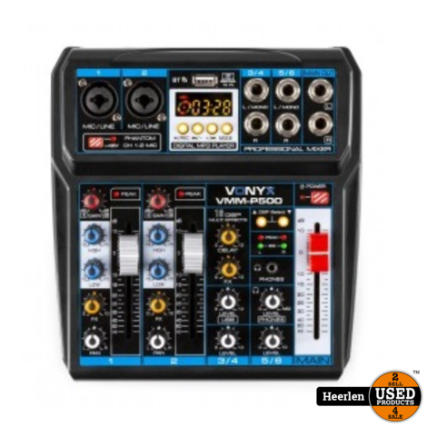Vonyx 4-kanaals Music Mixer