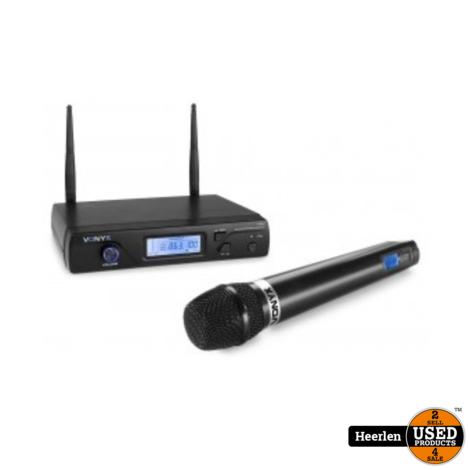 Vonyx 16-Kanaals Draadloos Microfoonsysteem