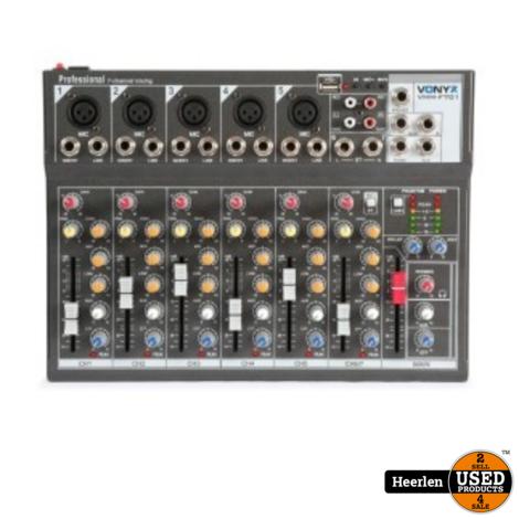 Vonyx 7-Kanaals Muziekmixer