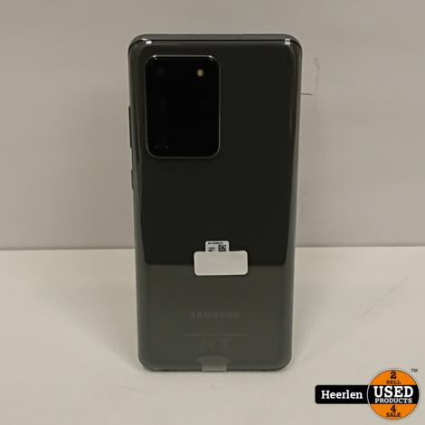 Samsung Galaxy S20 Ultra 5G | 128GB | Grijs | A-Grade | Met Garantie