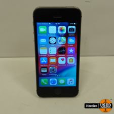 Apple Apple iPhone 5S | 16GB | Space Gray | B-Grade | Met Garantie
