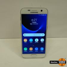 Samsung Samsung Galaxy S7   32GB   Wit   A-Grade   Met Garantie