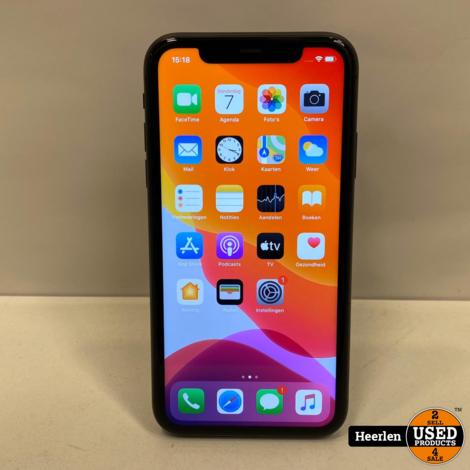 Apple iPhone 11 | 64GB | Zwart | A-Grade | Met Garantie