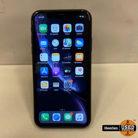Apple iPhone XR | 64GB | Zwart | A-Grade | Met Garantie