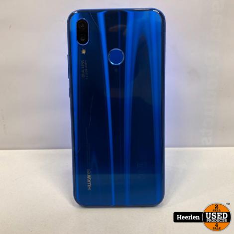 Huawei P20 Lite | 64GB | Blauw | C-Grade | Met Garantie