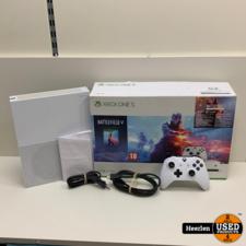 Microsoft Microsoft Xbox One S   1TB   Wit   B-Grade   Met Garantie