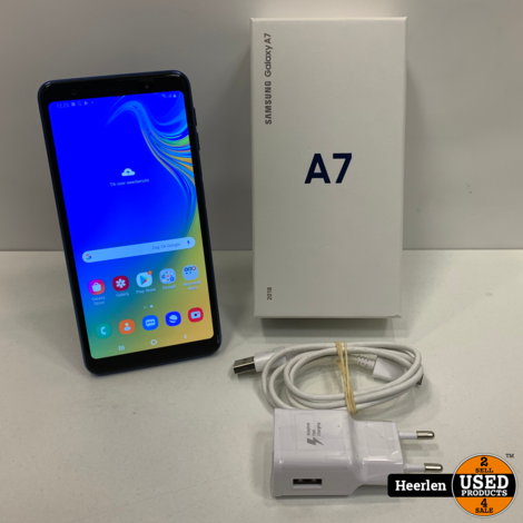Samsung Galaxy A7 | 64GB | Blauw | A-Grade | Met Garantie