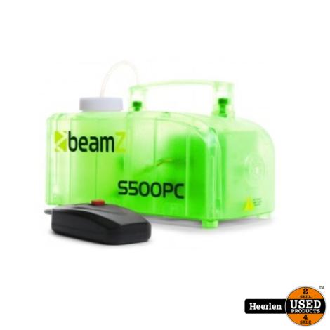 Beamz Beamz transparante rookmachine met LED