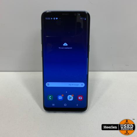 Samsung Galaxy S8 | 64GB | Blauw | B-Grade | Met Garantie