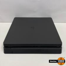 Sony Sony Playstation 4 Slim   500GB   Zwart   B-Grade   Met Garantie
