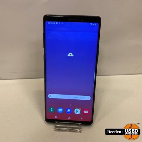 Samsung Galaxy Note 9 | 128GB | Zwart | D-Grade | Met Garantie