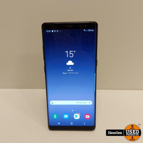 Samsung Galaxy Note 8 | 64GB | Zwart | A-Grade | Met Garantie