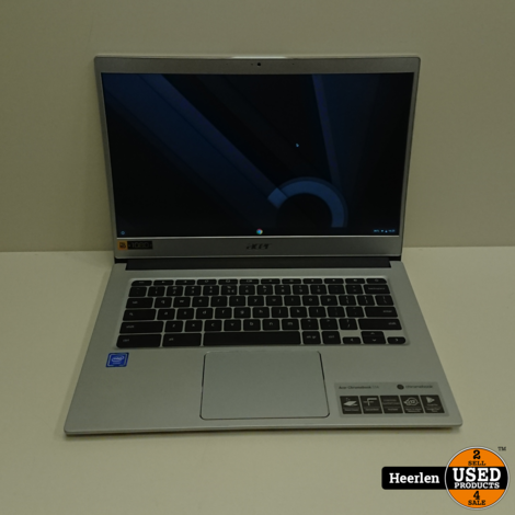Acer Chromebook 514 | Intel Celeron N3350 | 4GB - 32GB SSD | A-Grade | Met Garantie