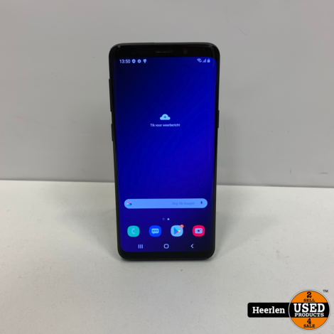 Samsung Galaxy S9 64GB | Zwart | B-Grade | Met Garantie