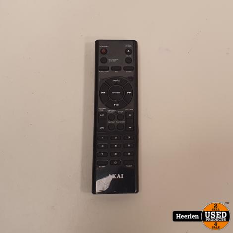 Akai Stereoset AMP240   Zilver   B-Grade   Met Garantie