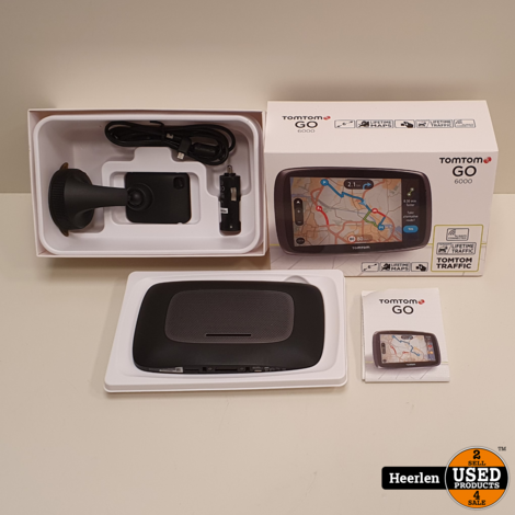 TomTom Go 6000   Zwart   A-Grade   Met Garantie