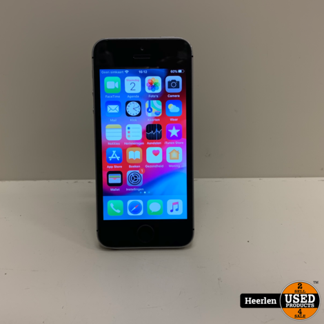 Apple iPhone SE 32GB | Space gray | B-Grade | Met Garantie