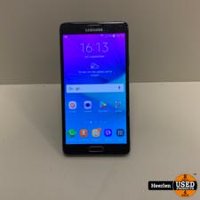 Samsung Samsung Galaxy Note 4 32GB   Zwart   B-Grade   Met Garantie