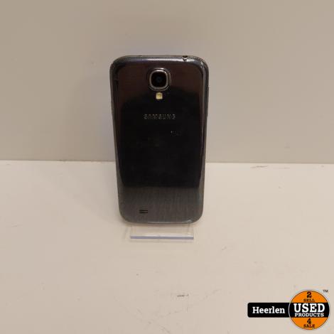 Samsung Galaxy S4 16GB   Zwart   C-Grade   Met Garantie
