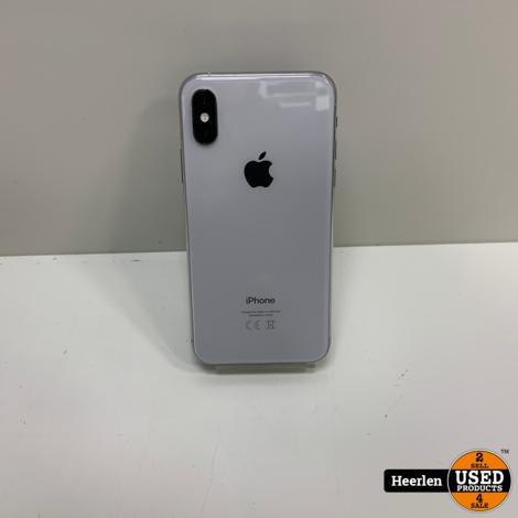 Apple iPhone XS 64GB | Zilver | A-Grade | Met Garantie
