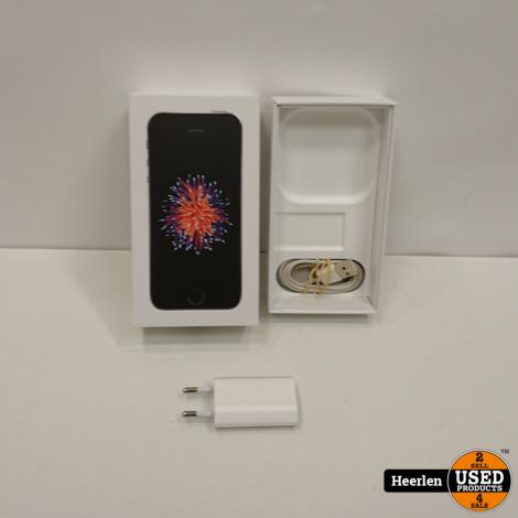 Apple iPhone SE 32GB   Space gray   B-Grade   Met Garantie