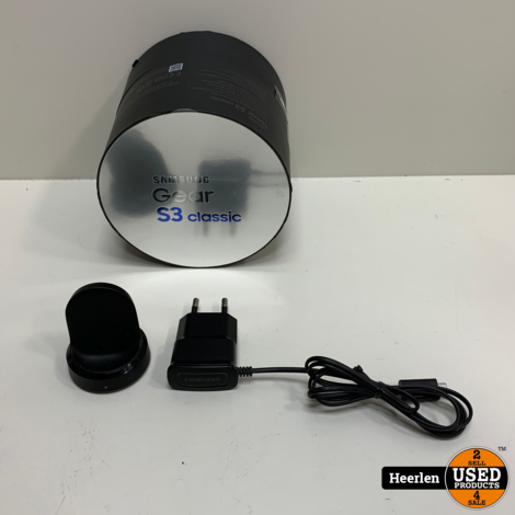 Samsung Gear S3 Classic | Zilver | B-Grade | Met Garantie