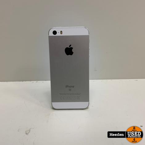 Apple iPhone SE 64GB | Zilver | B-Grade | Met Garantie