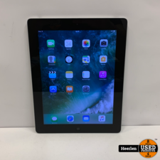 Apple Apple iPad 4 Wi-Fi 32GB   Space Gray   B-Grade   Met Garantie