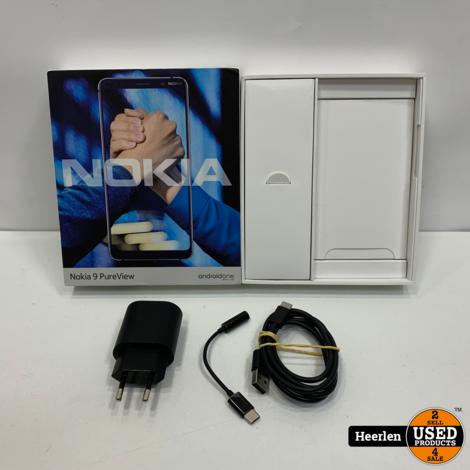 Nokia 9 PureView 128GB | Blauw | A-Grade | Met Garantie