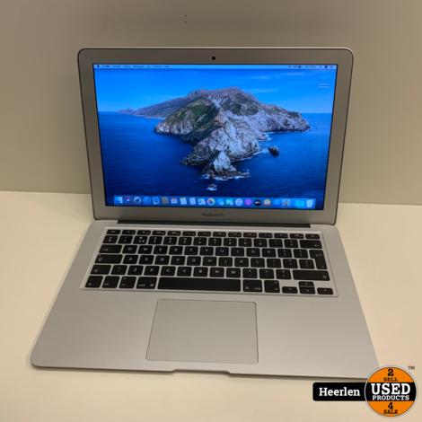 Apple Macbook Air Early 2014   Intel Core i5-4260U   4GB - 120GB SSD   A-Grade   Met Garantie