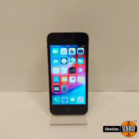 Apple iPhone SE 64GB | Space gray | C-Grade | Met Garantie
