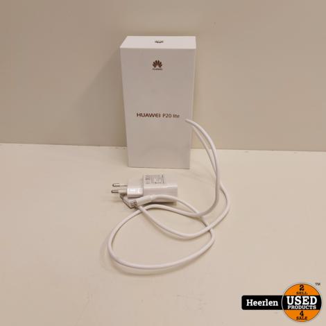 Huawei P20 Lite 64GB | Zwart | B-Grade | Met Garantie
