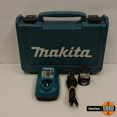Makita DF330D Accuboormachine | Blauw | B-Grade | Met Garantie