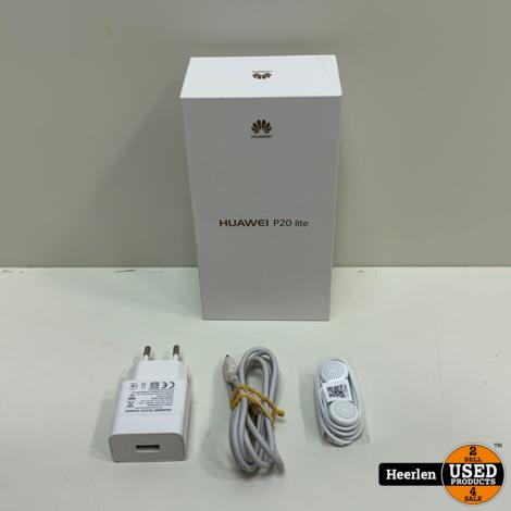 Huawei P20 Lite 64GB | Zwart | A-Grade | Met Garantie