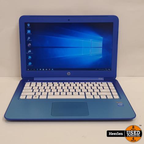 HP Stream 13 | Intel Celeron N2840 | 2GB - 32GB SSD | C-Grade | Met Garantie