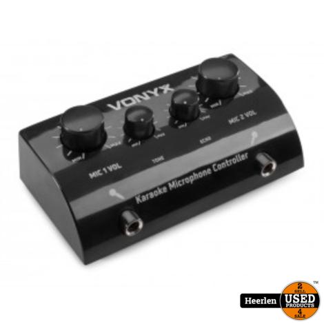 Vonyx Karaoke Microphone Controller | AV430B | Nieuw | Met Garantie