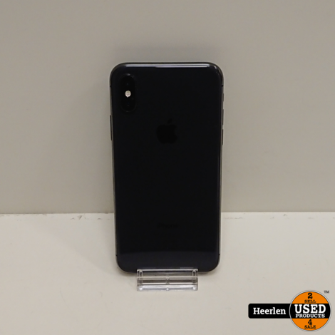 Apple iPhone X 64GB | Space Gray | B-Grade | Met Garantie