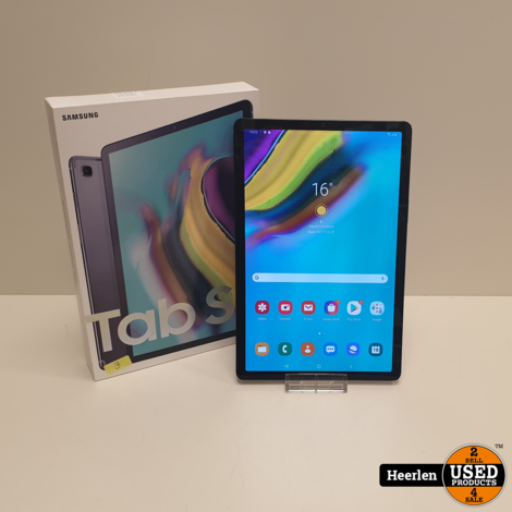 Samsung Galaxy Tab S5e 10.5 Wifi 4G 64GB | Zwart | A-Grade | Met Garantie