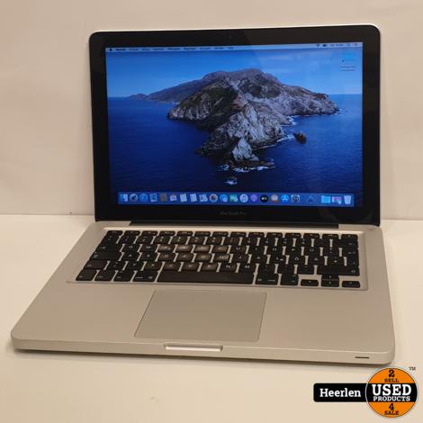 Apple Macbook Pro 13 inch Mid 2012 | Intel Core i7 | 2.9 GHz | 4GB - 240GB SSD | A-Grade | Met Garantie