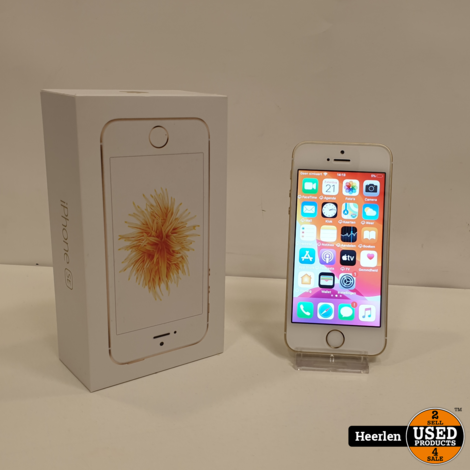 Apple iPhone SE 64GB | Goud | B-Grade | Met Garantie