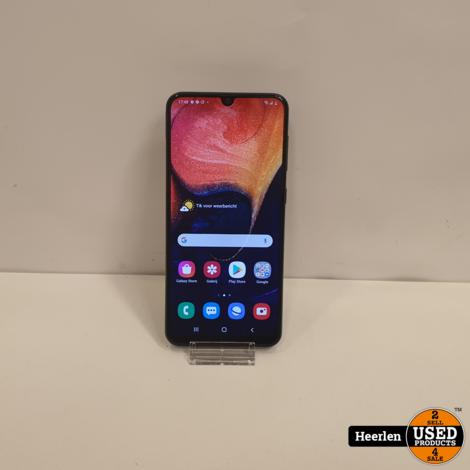 Samsung Galaxy A50 128GB | Zwart | B-Grade | Met Garantie