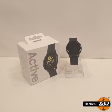 Samsung Galaxy Watch Active 4GB | zwart | Nieuw | Met Garantie