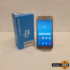 Samsung Samsung Galaxy J3 Pro 16GB   Goud   A-Grade   Met Garantie