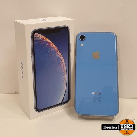 Apple iPhone XR 64 | Blue | C-Grade | Met Garantie