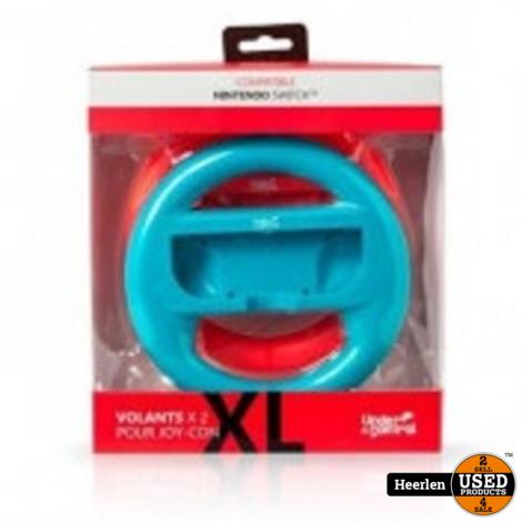 Under Control XL Racesturen Switch 2 stuks | Blauw en Rood | Nieuw | Met Garantie