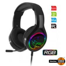 Spirit of Gamer Spirit of Gamer PRO-H8 Gaming Headset | RGB | Nieuw | Met Garantie
