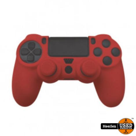 PS4 - Silicone Skin - Thumb Grips | Rood | Nieuw | Met Garantie