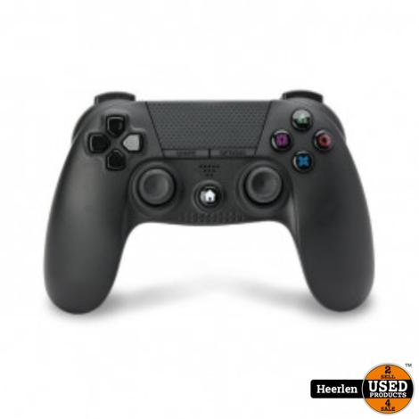 Under Control PS4 Bluetooth Controller met 3.5mm jack   Zwart   Nieuw   Met Garantie