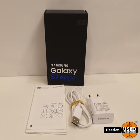 Samsung Galaxy S7 Edge 32GB   Gold   B-Grade   Met Garantie